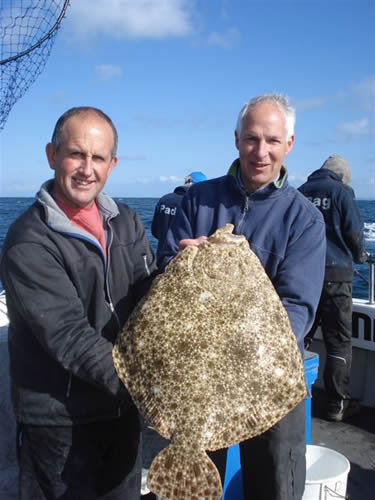 14lb Turbot - April 2012, East of Guernsey